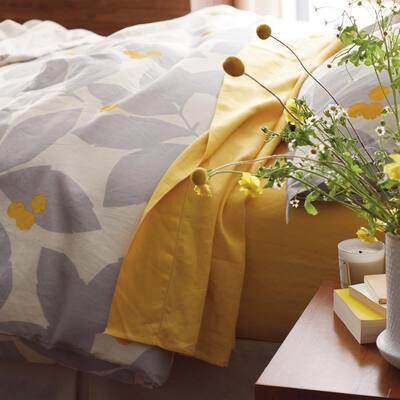 Legends Hotel™ Floral Relaxed Linen Duvet Cover