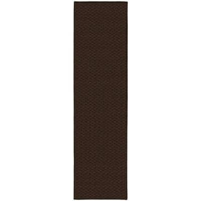 Medallion Chocolate 3 ft. x 12 ft. Runner Rug