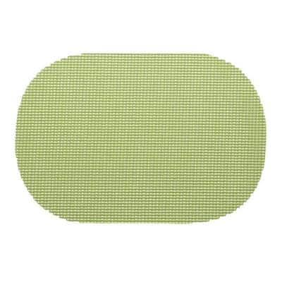 Fishnet Oval Placemat in Mist Green (Set of 12)