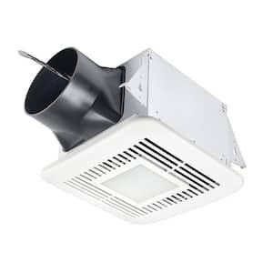 Elite 110 CFM Ceiling Bathroom Exhaust Fan with Dimmable LED Adjustable Speeds Motion Sensor, ENERGY STAR