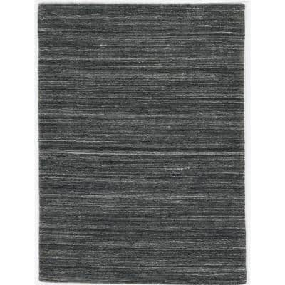 Tate Charcoal 8 ft. x 10 ft. Area Rug