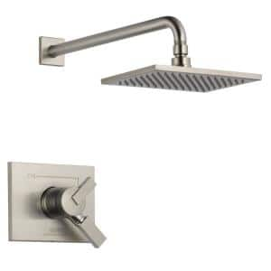 Vero 1-Handle Shower Faucet Trim Kit in Stainless (Valve Not Included)