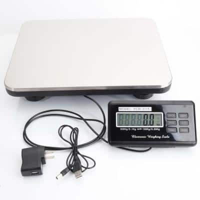 660 lbs. Portable Digital Electronic Scale Shipping Postal Scales
