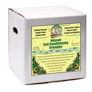 Trident's Pride by Bare Ground 15 lb. Ready-to-Use Soil Conditioning Granules Box