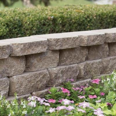 4 in. x 11.75 in. x 6.75 in. Carolina Blend Concrete Retaining Wall Block (144-Pieces/46.6 sq. ft./Pallet)