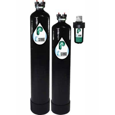 15 GPM 5-Stage Whole House Water Filtration and NaturSoft Water Softener Alternative System