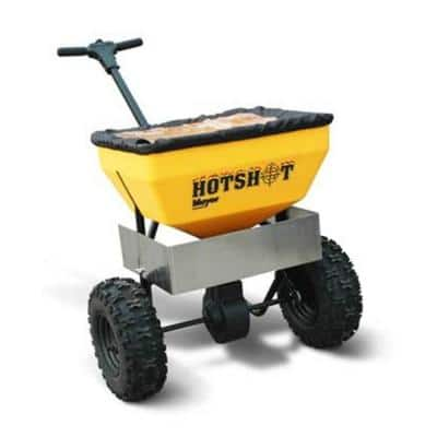 70 lb. Capacity Walk Behind Broadcast Salt Spreader