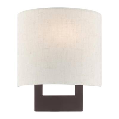 Hayworth 1 Light Bronze ADA Wall Sconce