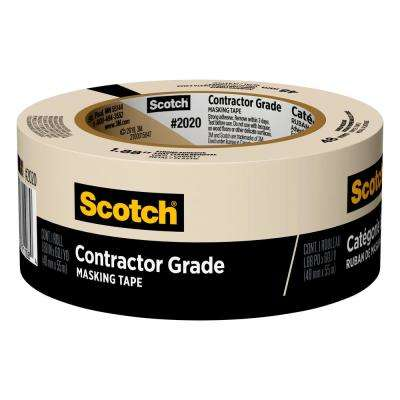 Scotch 1.88 in. x 60.1 yds. General Purpose Masking Tape (Case of 24)