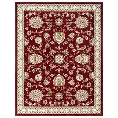Bazaar Scarlet Red 7ft 10in x 10ft 2in Area Rug