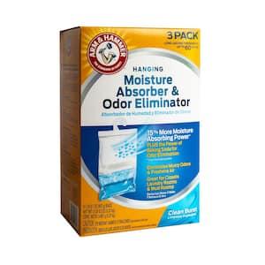 16 oz. Moisture Absorber and Odor Eliminator Hanging Bag Clean Burst Scent (3-Pack)
