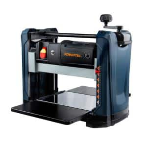 12-1/2 in. 15 Amp 2-Blade Portable Benchtop Thickness Planer For Woodworking
