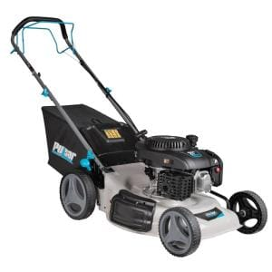 21 in. 200 cc Gas Recoil Start Self-Propelled 3-in-1 Walk Behind Push Mower with 7-Position Height Adjustment