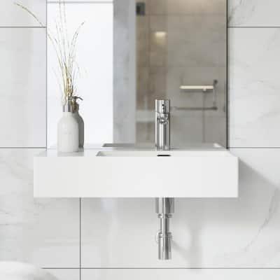 St. Tropez Vessel Sink in Glossy White