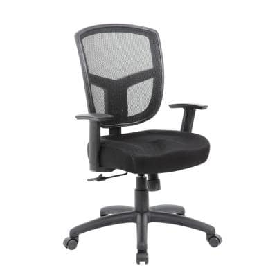 Black Contract Mesh Task Chair