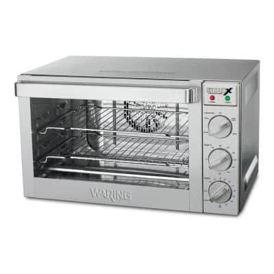 Half-Size Silver Commercial Convection Oven