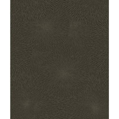 Zion Brown Starburst Brown Wallpaper Sample