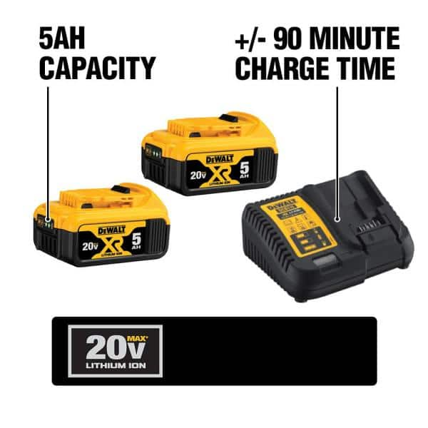 Sealed MM DeWalt DCB205 20V MAX XR 5AH Li-Ion Battery BRAND New