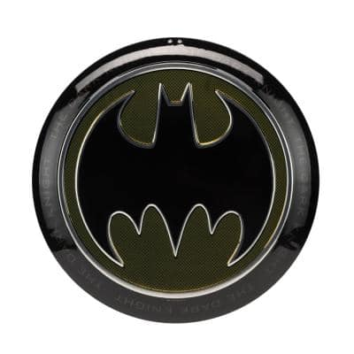 Batman Embossed Metal Button Decorative Sign