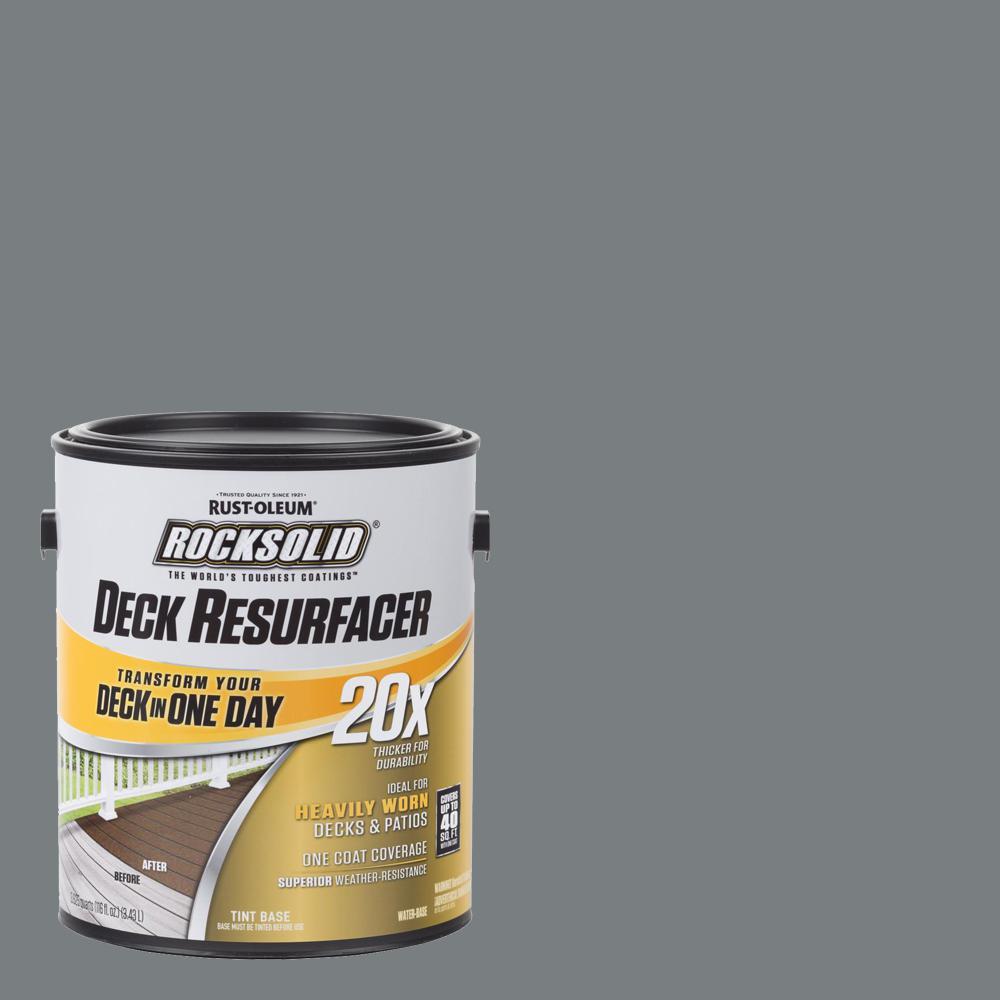 1 Gal. Gray Exterior 20X Deck Resurfacer
