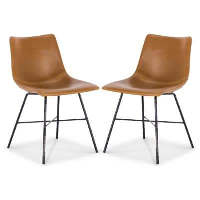 Tan Paxton Dining Chair (Set of 2)