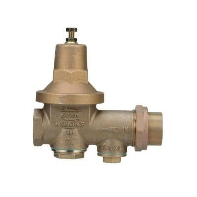 1-1/4 in. Brass FPT x FPT Water Pressure Reducing Valve
