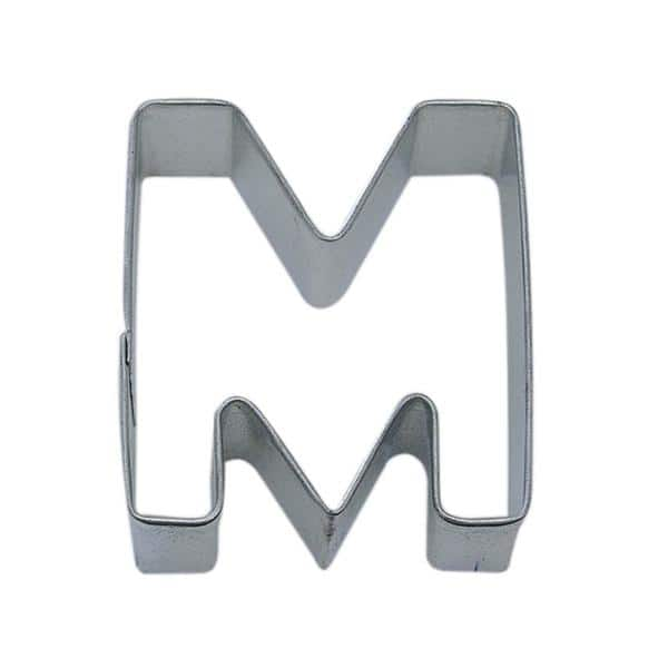Cybrtrayd 12 Piece Letter M Tinplated Steel Cookie Cutter Cookie Recipe Rm 1482 12lot The Home Depot