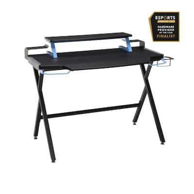 "1000 Gaming Computer Desk, 42"", in Blue (RSP-1000-BLU)"