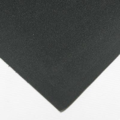 Closed Cell Sponge Rubber Neoprene 1 in. x 39 in. x 78 in. Black Foam Rubber Sheet