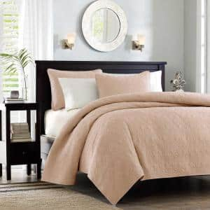 Mansfield 3-Piece Blush King/Cal King Coverlet Set