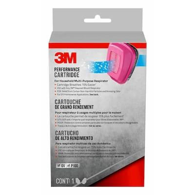 Organic Vapor Replacement Cartridge for House Hold Multipurpose Respirator
