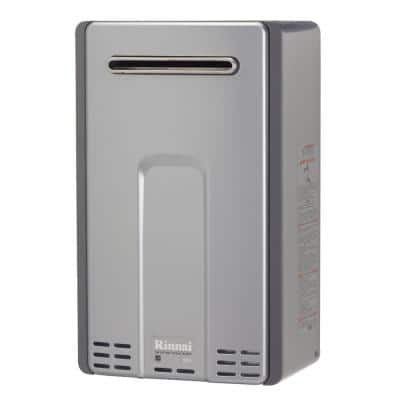High Efficiency Plus 9.8 GPM Residential 199,000 BTU Natural Gas Exterior Tankless Water Heater