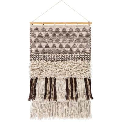 Helena 20 in. x 32 in. Camel Wall Hanging