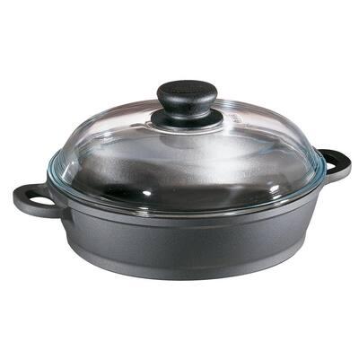 Tradition 2 Qt. Non Stick Cast Aluminum Saute Casserole with Lid