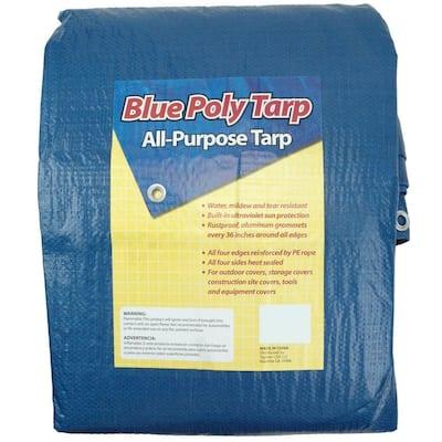 8 ft. x 10 ft. Blue Tarp