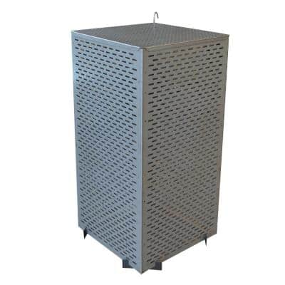 35 in. Steel Folding Burn Cage and Fire Pit Screen