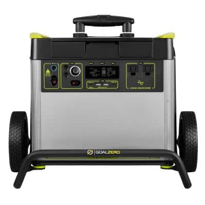 YetiX 3000-Watt Electric Switch Start Lithium Battery Powered Portable Generator