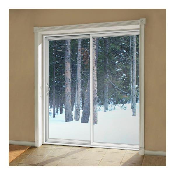 Full Lite Sliding Patio Door W, Jeld Wen Builders Vinyl Sliding Patio Door Reviews