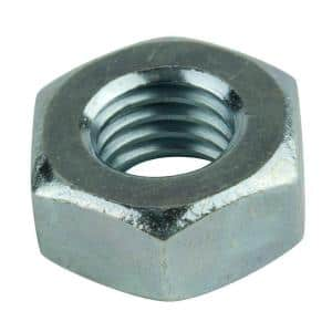 5/16 in. -24 tpi Zinc-Plated Grade 5 Hex Nut