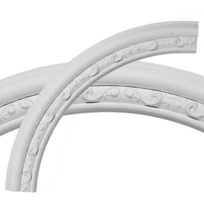 36 in. Watford Ceiling Ring (1/4 of Complete Circle)
