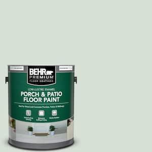 1 gal. #S410-1 River Mist Low-Lustre Enamel Interior/Exterior Porch and Patio Floor Paint