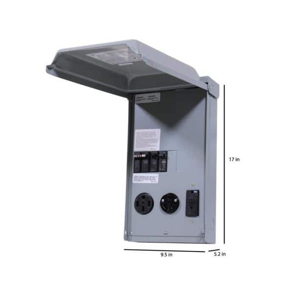 GE GE1LU502SS 70A 120//240V RV Outlet Circuit Protected Receptacles for sale online