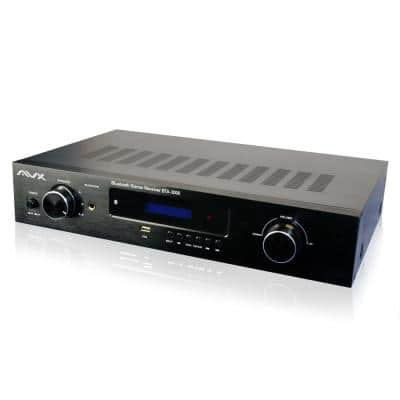 Bluetooth Stereo Amplifier-Receiver With Phono Input and FM Tuner
