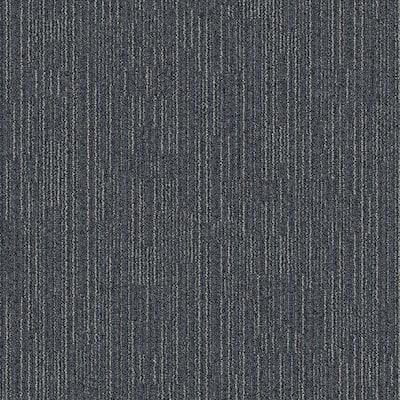 Merrick Brook Space Patterned 24 in. x 24 in. Carpet Tile (24 Tiles/Case)
