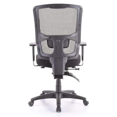Zabrina Black Mesh / Fabric Chair