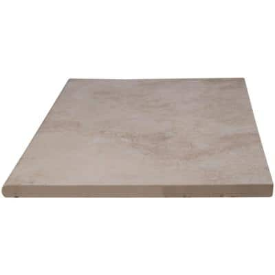 13 in. x 24 in. Isabela Beige Porcelain Pool Coping (26-Pieces/56.33 sq. ft./Pallet)
