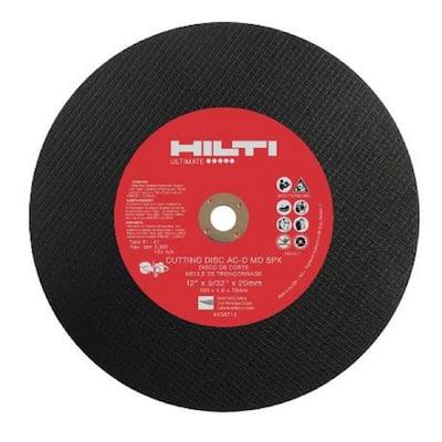 14 in. x 5/32 in. x 1 in. SP-1 Abrasive Metal Deck Cutting Gas Saw Blade/Disc (10-Pack)