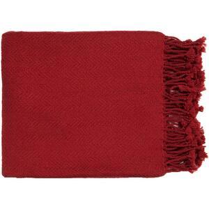 Simone Cherry Throw Blanket