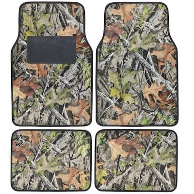 Hawg Camouflage MT-703 Camo 4-Piece Car Floor Mats