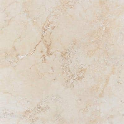 Roccia Marfil 20 in. x 20 in. Beige Porcelain Floor and Wall Tile (14 sq. ft. / case)